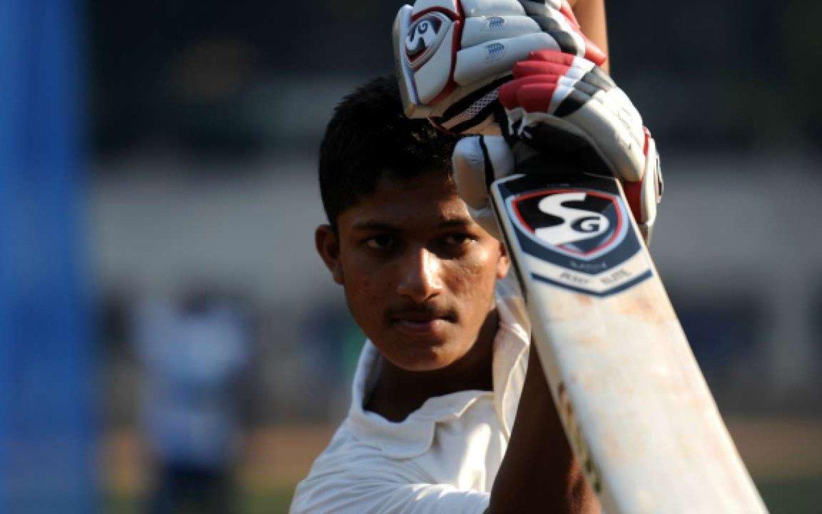 Cricket Image for चाचा के नक्शेकदम पर चल रहा है भतीजा, 11 चौके और 3 छक्कों समेत ठोक डाले 122 रन