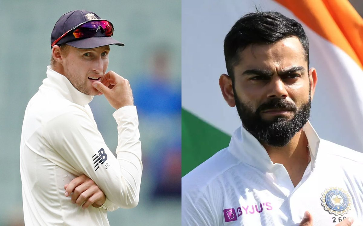 Cricket Image for रूट को सताने लगा है विराट का डर, कहा- 'अगर सीरीज जीतनी है, तो कोहली को खामोश रखना