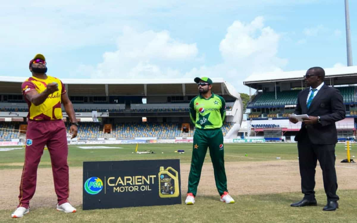 Cricket Image for WI vs PAK: West Indies Bat First In Third T20 Against Pakistan