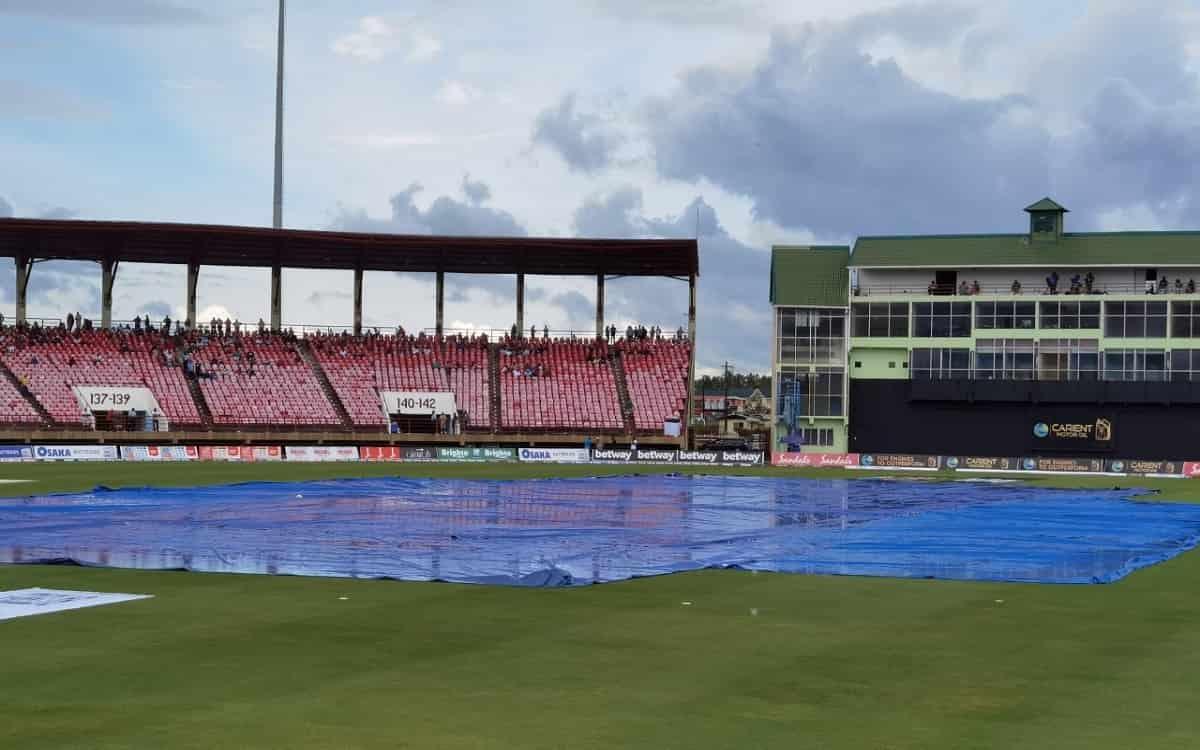 Cricket Image for WI vs PAK: बारिश के कारण वेस्टइंडीज-पाकिस्तान का तीसरा टी-20 मुकाबला टला