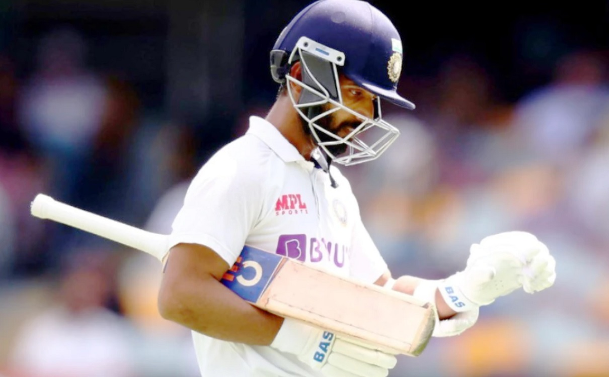 Ajinkya Rahane became the first Indian to record three Test ducks at an overseas venue
