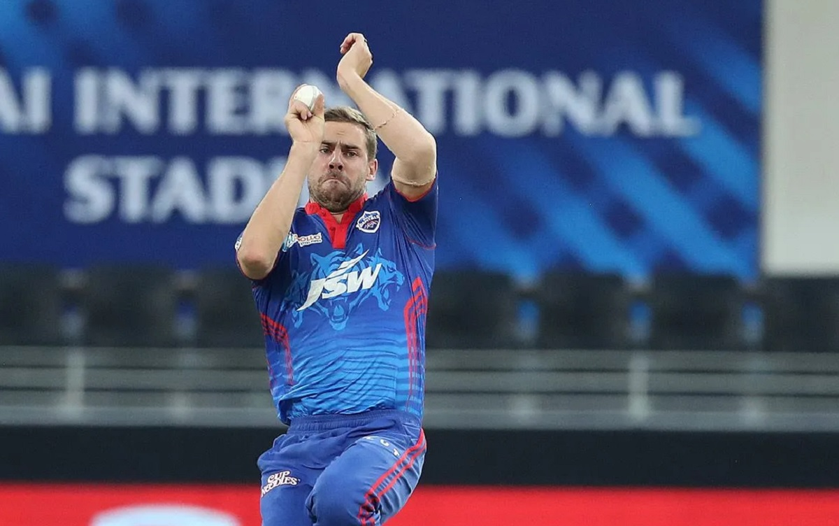 Anrich Nortje delivered 151.70 KPH, fastest ball of IPL 2021 so far
