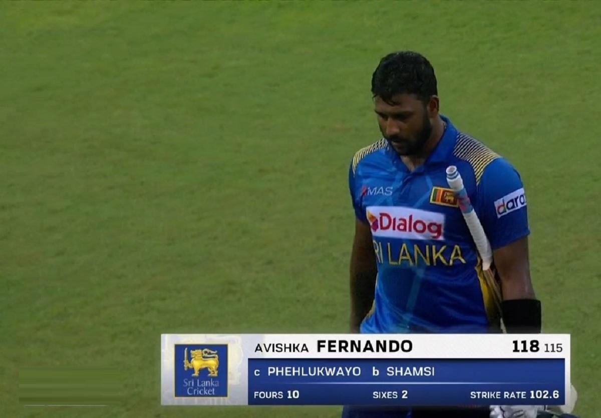 Cricket Image for SL vs SA: अविष्का फर्नांडो ने ठोका रिकॉर्ड शतक, श्रीलंका ने पहले वनडे में साउथ अफ्