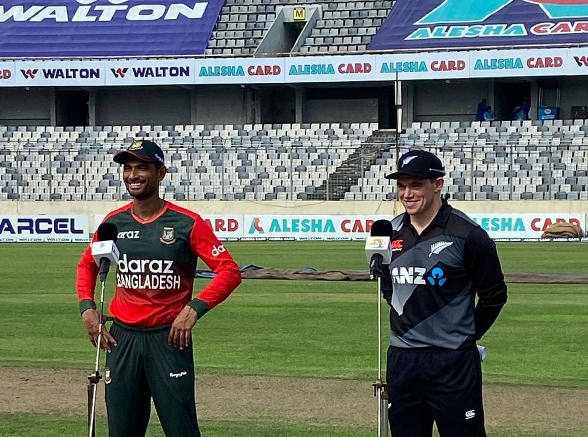 BAN vs NZ New zealand Won the toss and choose to bat first