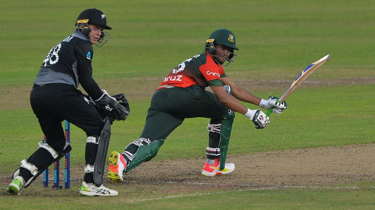 Ban vs NZ Bangladesh won the toss and elect to bat first