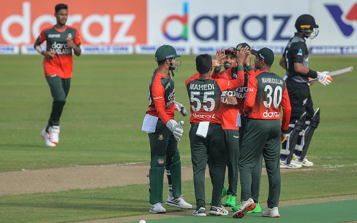 Bangladesh beat New Zealand by 7 wickets in first t20i