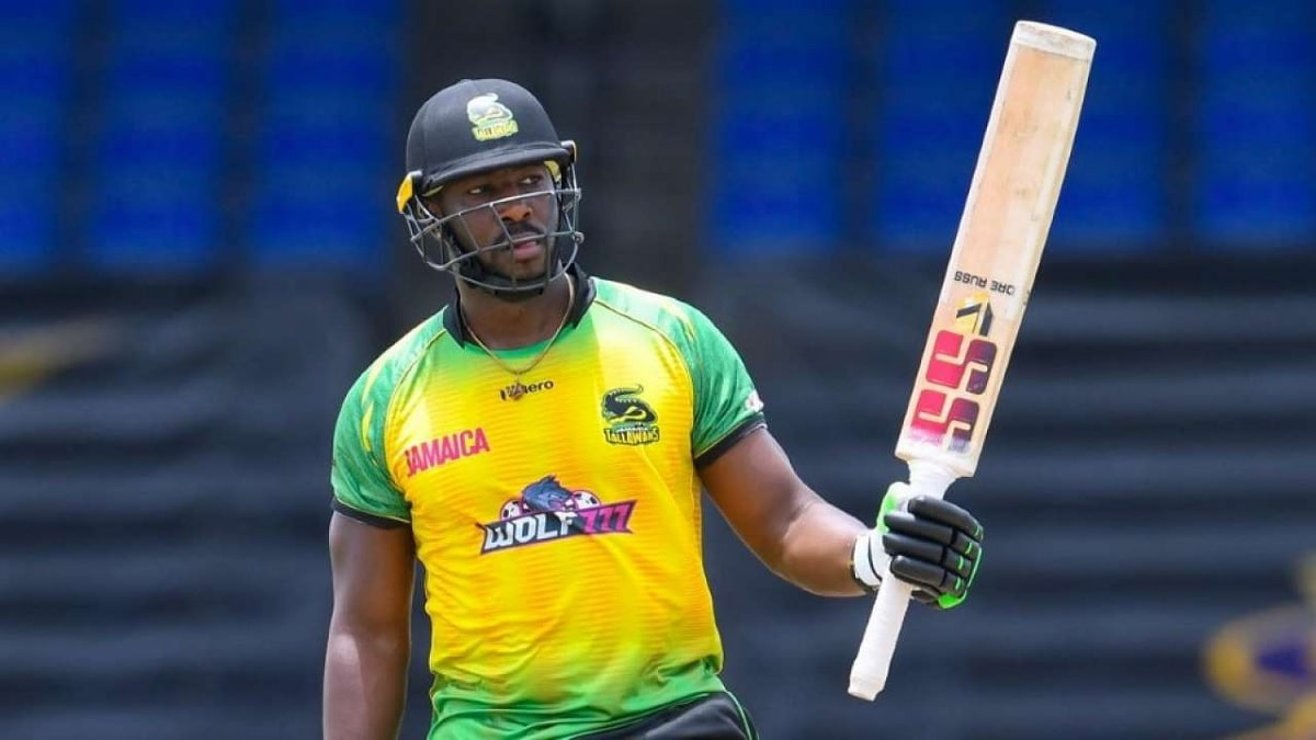 CPL 2021 Jamaica Tallawahs beat St kitts and Nevis Patriots by 22 runs