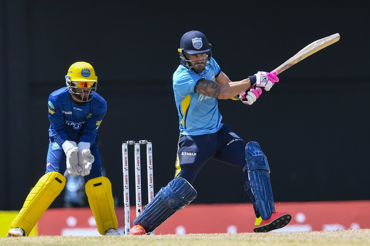 CPL 2021 Saint Lucia kings beat Barbados Royals by 14 runs