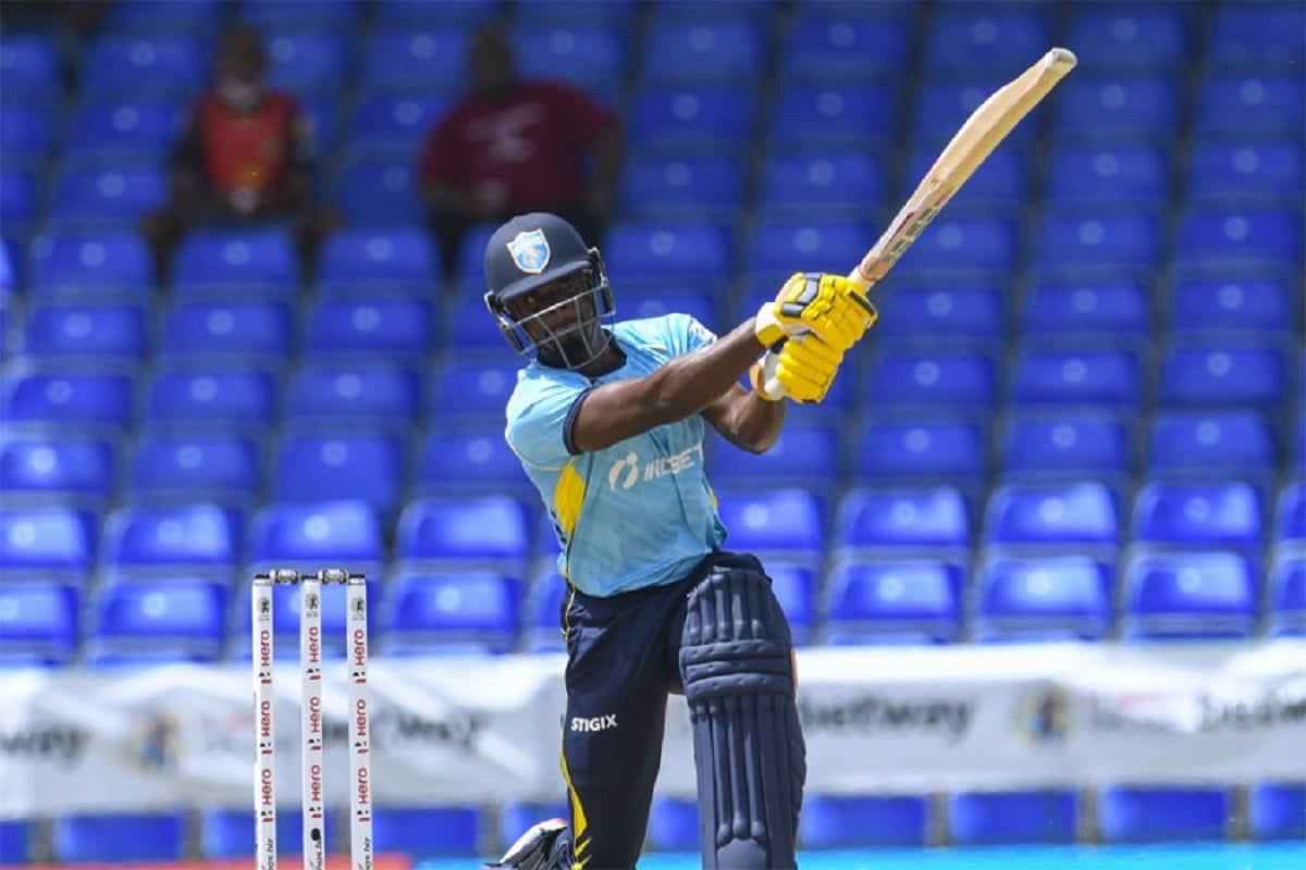 CPL 2021 Saint lucia kings beat St Kitts and Nevis Patriots by 6 Wickets