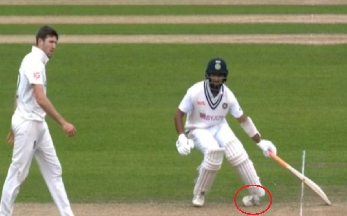 Cricket Image for India Vs England 4th Test Cheteshwar Pujara Twists His Ankle Watch Video