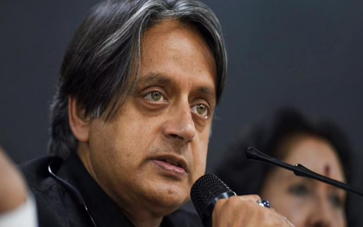 Cricket Image for Congress Mp Shashi Tharoor Slams India For Leaving Out R Ashwin