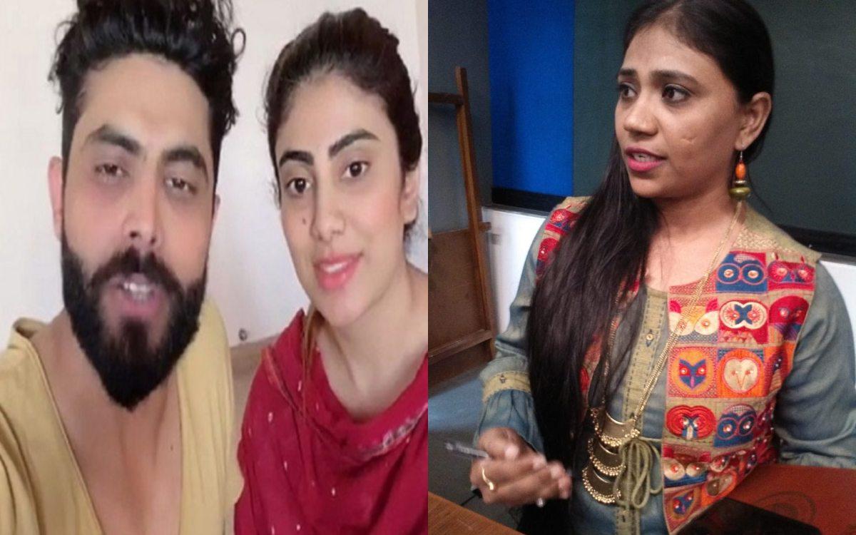 Cricket Image for Discord Between Ravindra Jadeja Wife Reewaba And Sister Naynaba