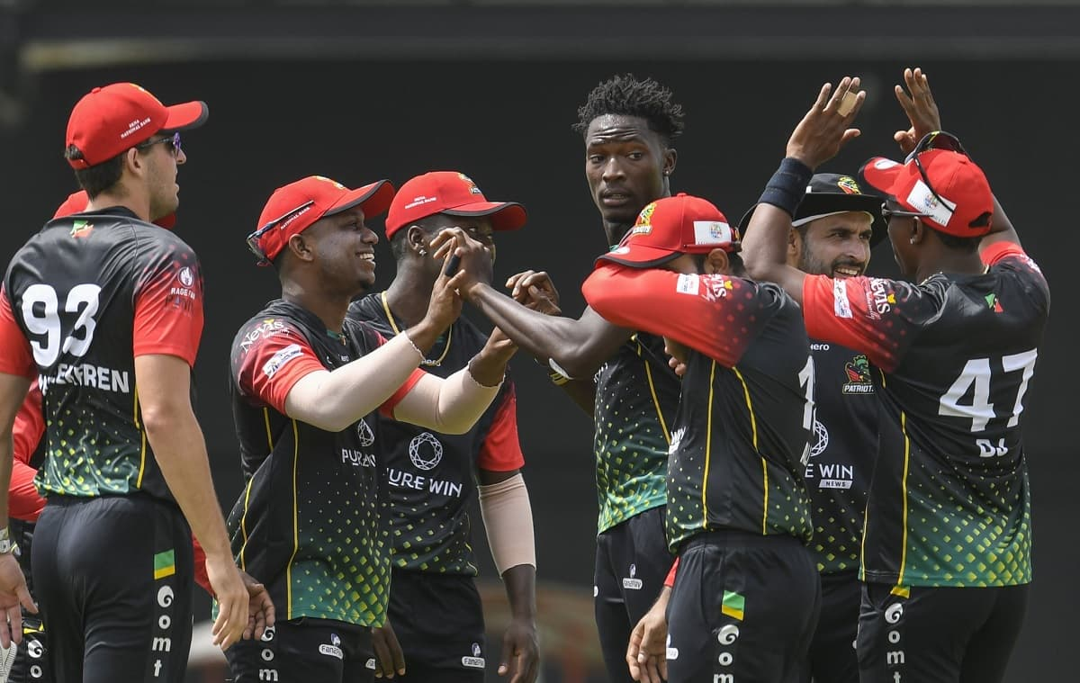 St Kitts and Nevis Patriots are CPL champions for the first time