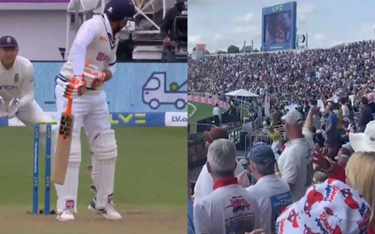 Cricket Image for England Barmy Army Made Fun Of Ravindra Jadeja