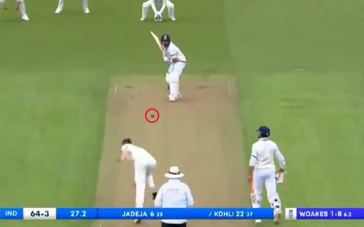 Cricket Image for England Vs India Joe Root Dropped The Catch Of Virat Kohli Watch Video