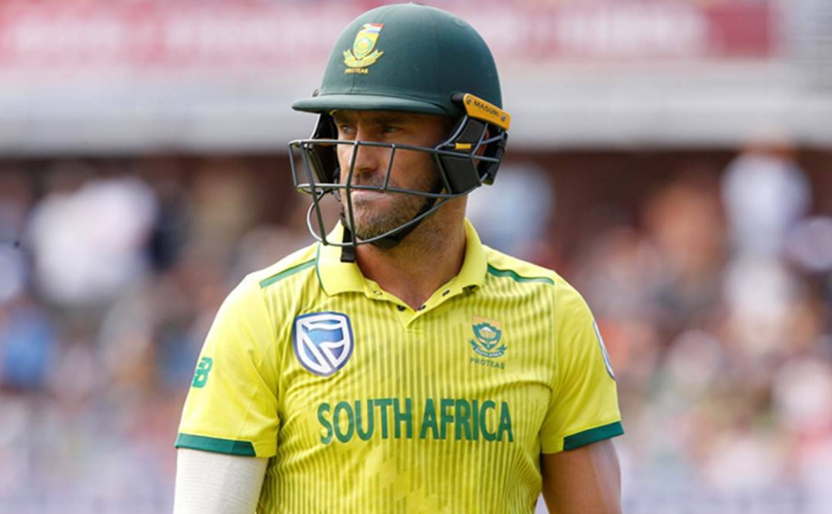 South Africa squad for t20 world cup 2021, no place for Faf Du Plessis