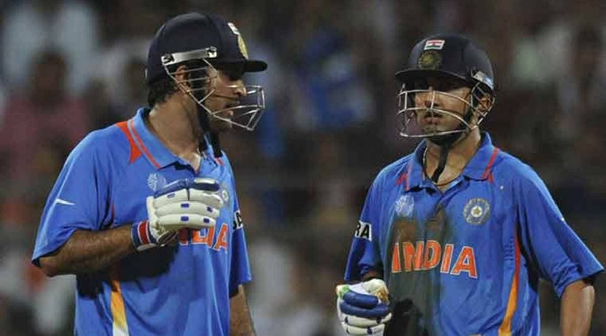 Gautam Gambhir points out the major reason behind MS Dhoni's appointment as a mentor for T20 World C