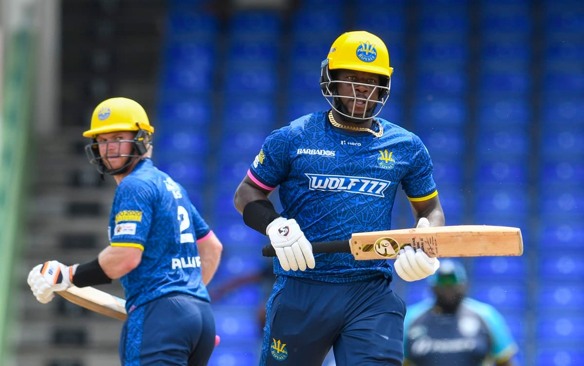 CPL 2021 Barbados Royals beat Saint Lucia Kings by 8 wickets