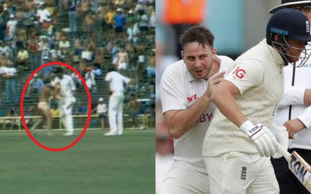 Cricket Image for Greg Chappell Took On A Pitch Invader And Gave Him A Batting Lesson
