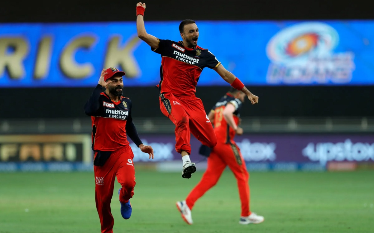 Harshal Patel becomes third RCB player to take a hat-trick