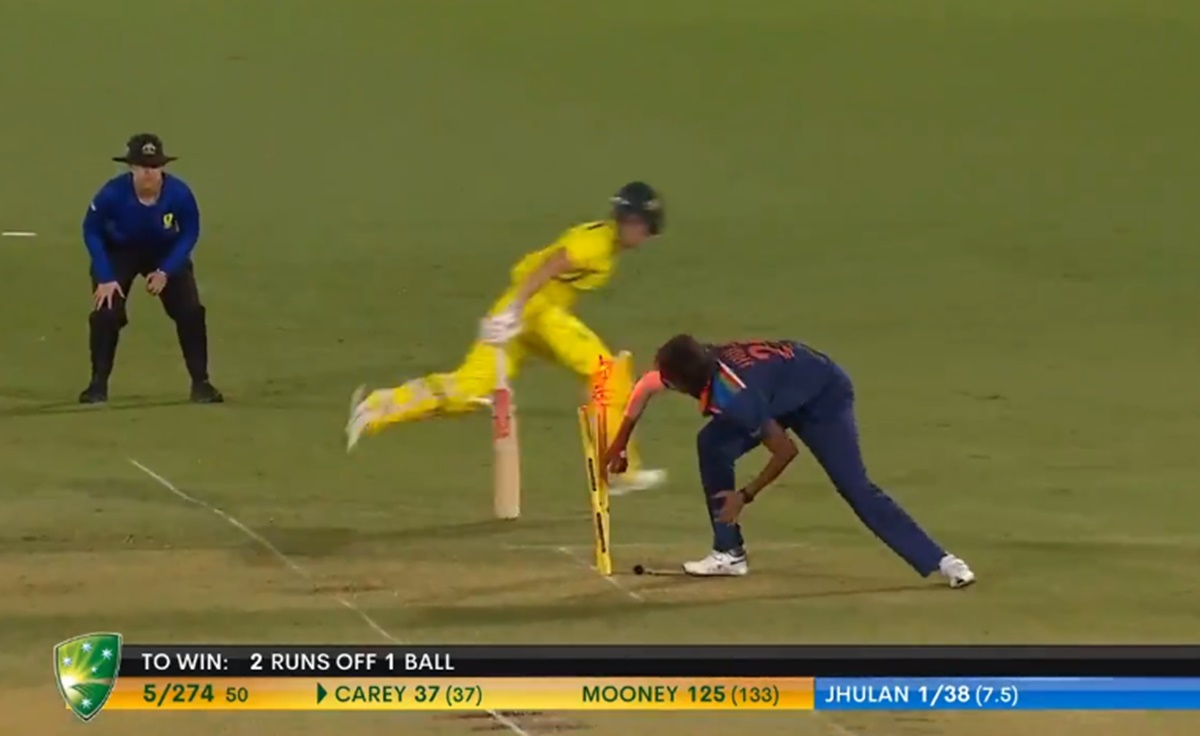 Cricket Image for Ind Women Vs Aus Women Last Over Highlight Watch Video