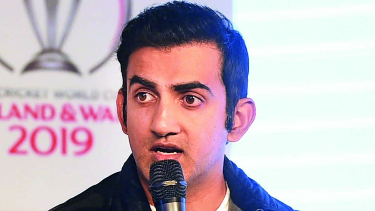 IPL 2021 Gautam Gambhir picks four teams that will make to the playoffs