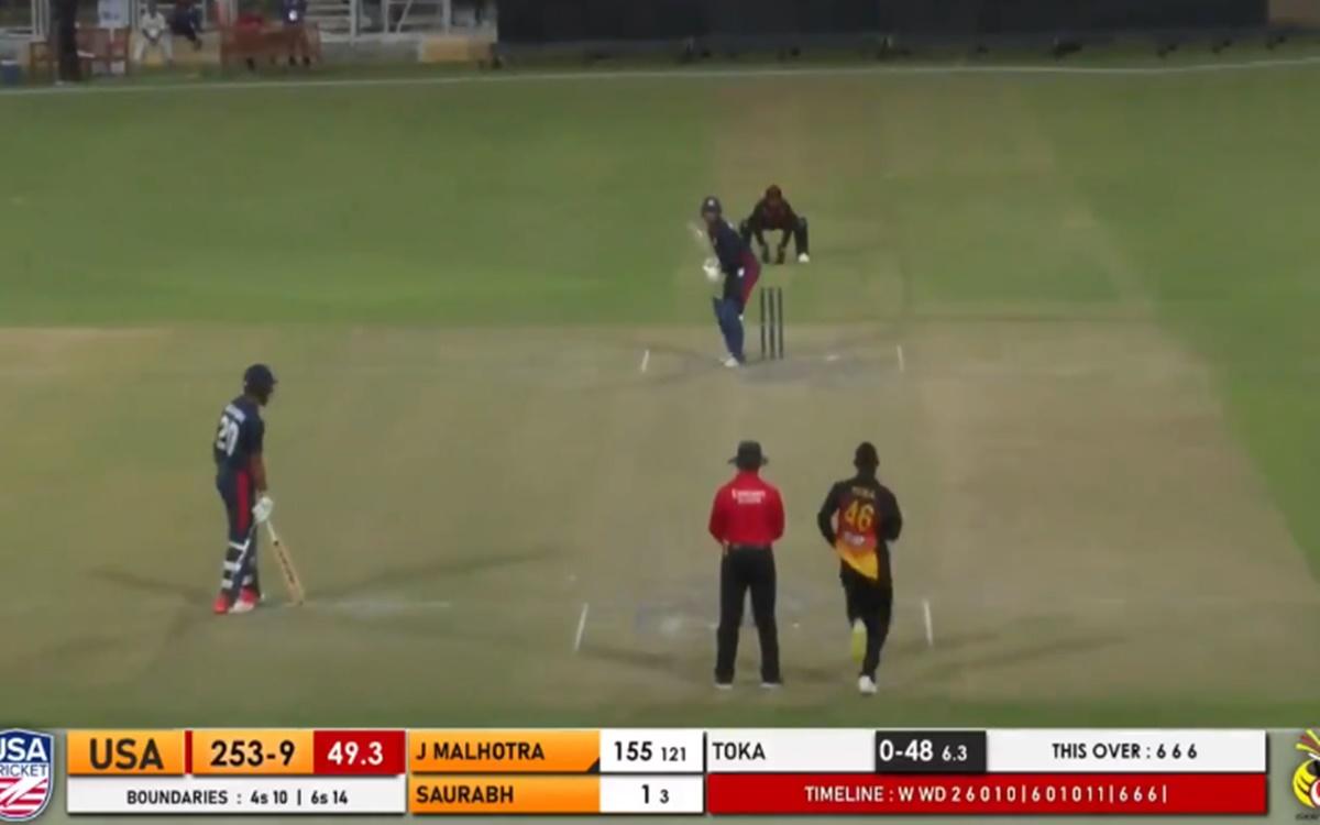 Cricket Image for VIDEO: '6,6,6,6,6,6', जसकरण मल्होत्रा के हर छक्के में थी युवराज सिंह की झलक
