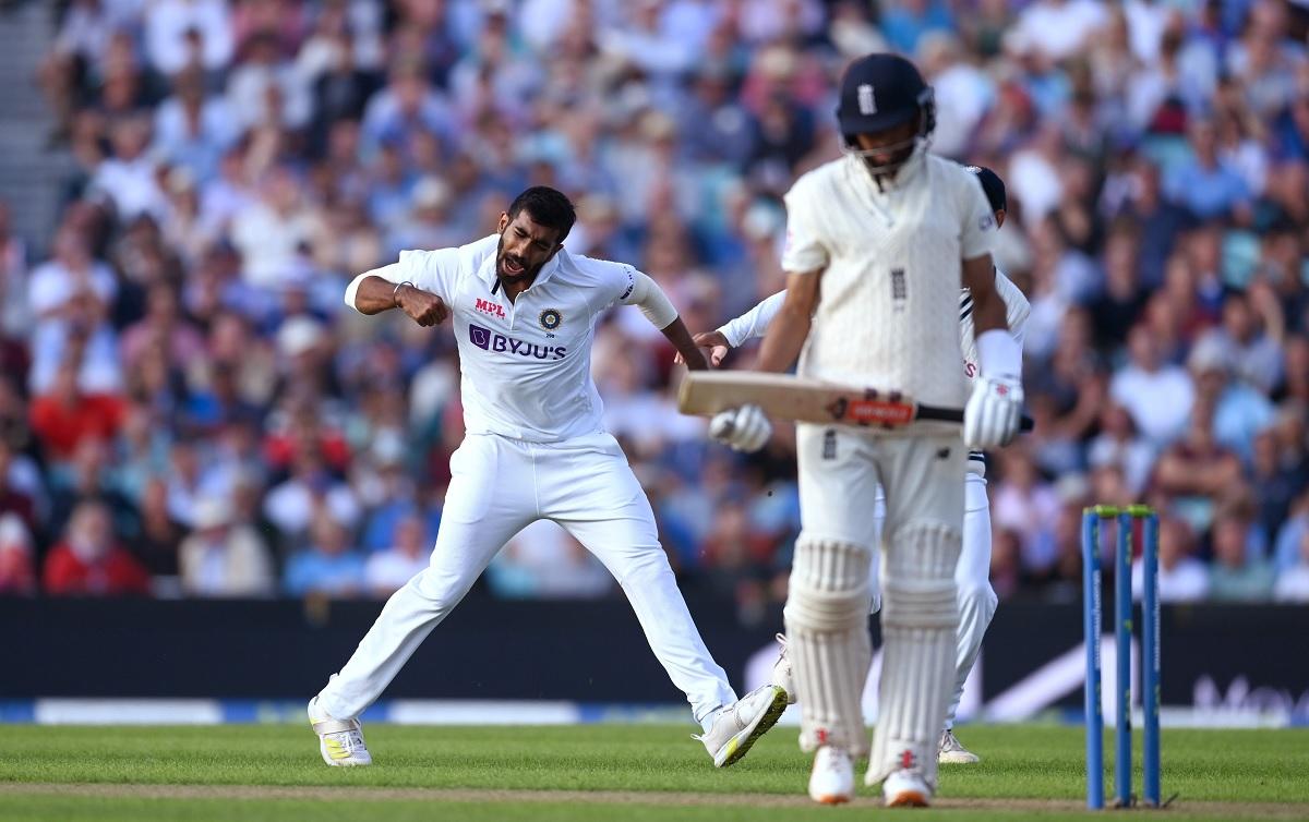 Cricket Image for जसप्रीत बुमराह टेस्ट में सबसे तेज 100 विकेट लेने वाले भारतीय तेज गेंदबाज बने,तोड़ा