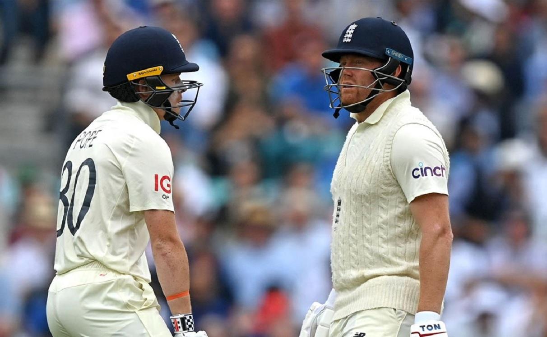Cricket Image for चौथा टेस्ट: पोप-बेयरस्टो ने संभाली इंग्लैंड की पारी, लंच तक स्कोर 5 विकेट पर 139 र