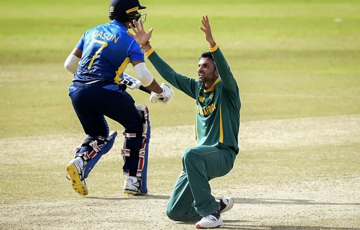 Keshav Maharaj second player to make their T20I debut as a captain and take a wicket off their first