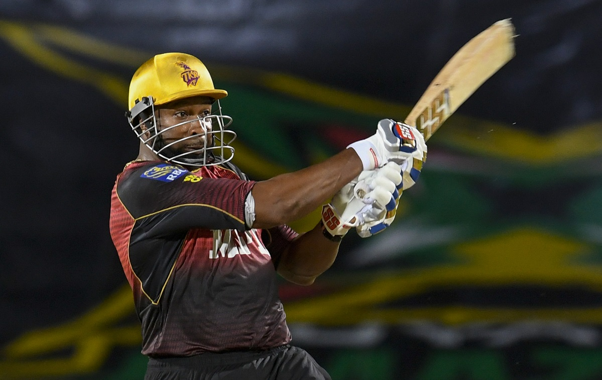 Kieron Pollard fifty helps Trinbago Knight Riders to beat St Kitts and Nevis Patriots by 8 wickets
