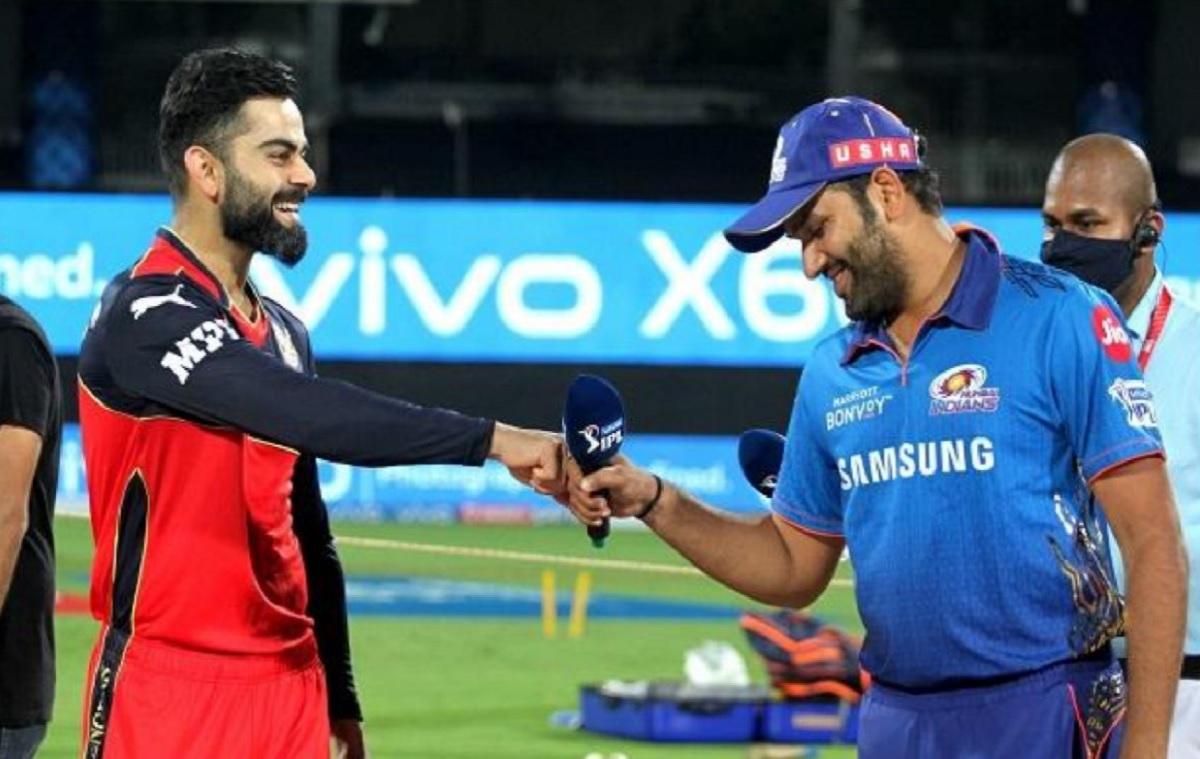 Mumbai Indians opt to bowl first against RCB