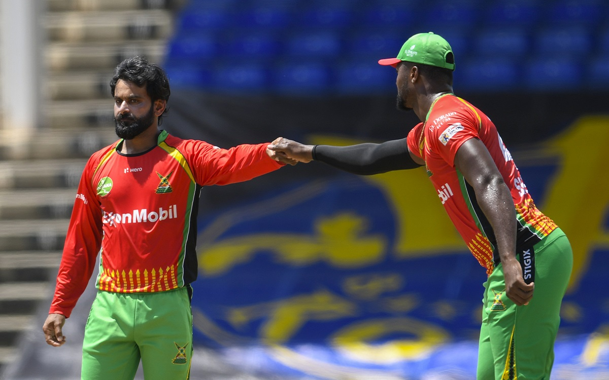 Mohammed Hafiz In CPL Images
