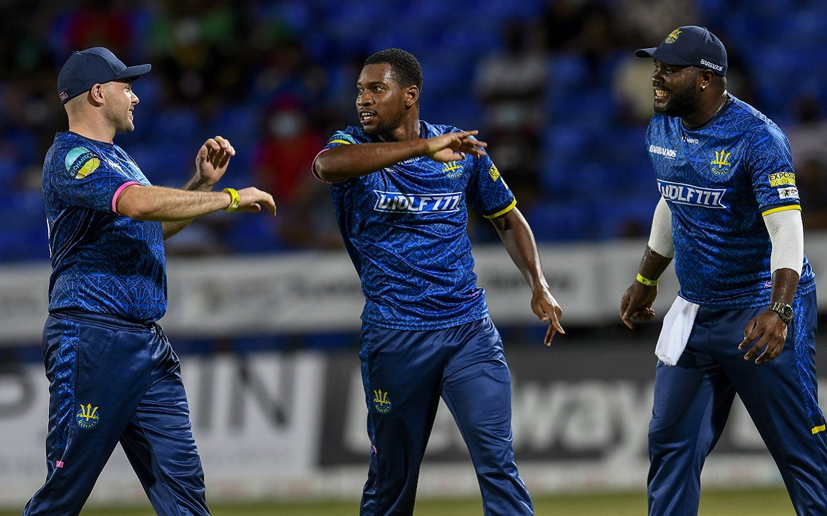 Nayeem Young In CPL Images