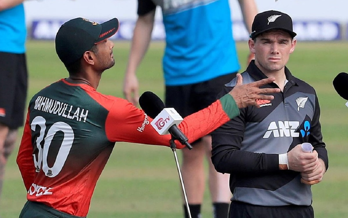 New Zealand have won the toss and will bat first