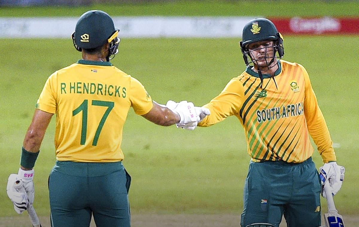South Africa beat Sri Lanka by 10 wickets in third t20i, complete 3-0 clean sweep