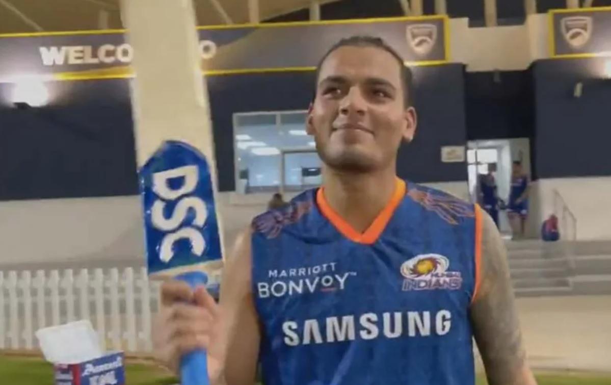 Cricket Image for VIDEO: टी-20 वर्ल्ड कप टीम में चुने जाने पर बोले राहुल चाहर, मैं भावुक हूं, इसमें