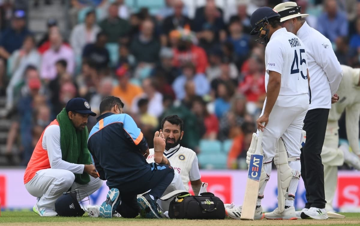 Rohit Sharma, Cheteshwar Pujara not to take the field on Day 5 of Oval Test
