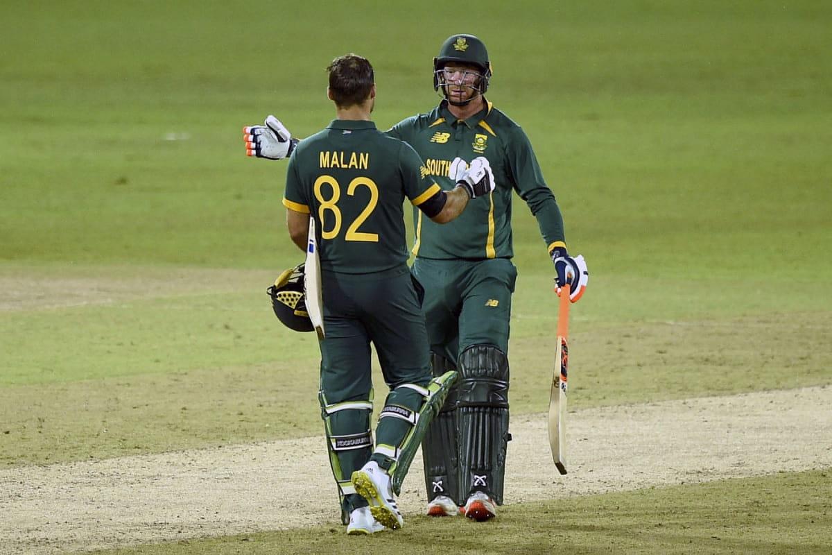 SL vs SA South Africa beat Sri Lanka by 67 runs in rain interrupted match