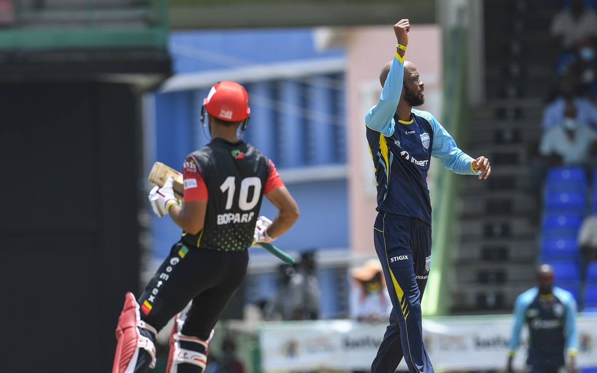 Saint Lucia Kings Vs St Kitts And Nevis Patriots Images