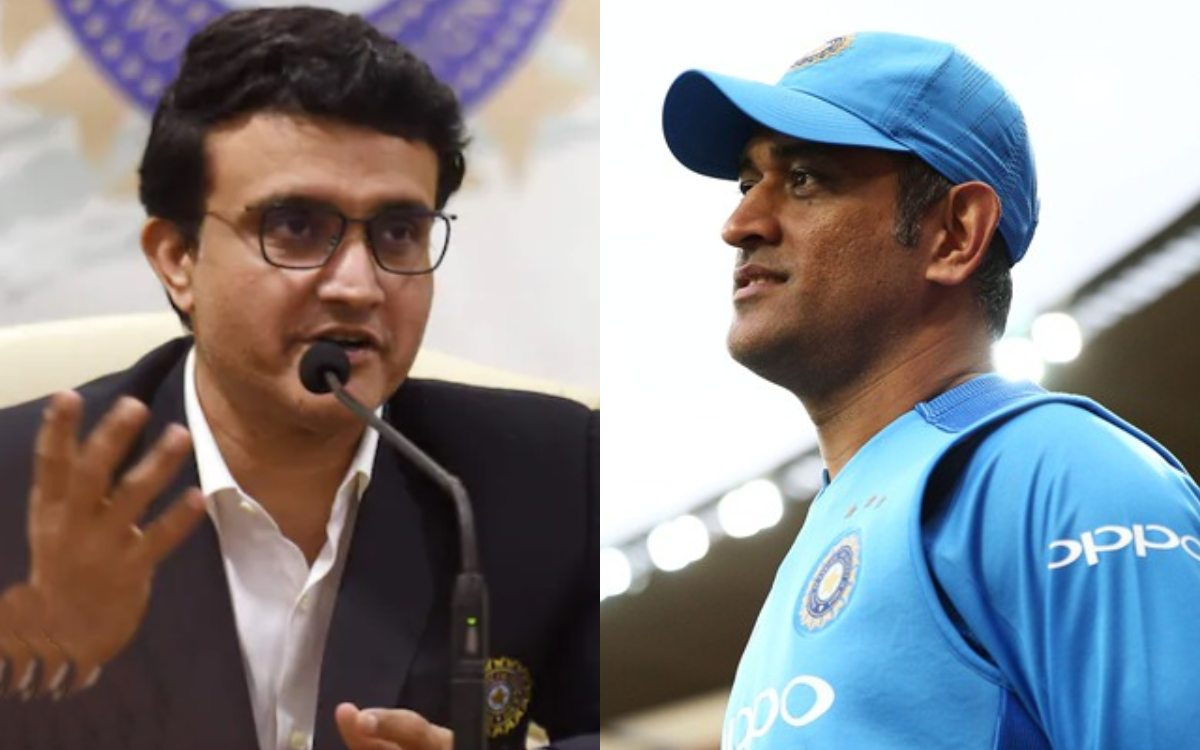 Cricket Image for Sourav Ganguly Told The Reason Why Ms Dhoni Became The Mentor Of Team India