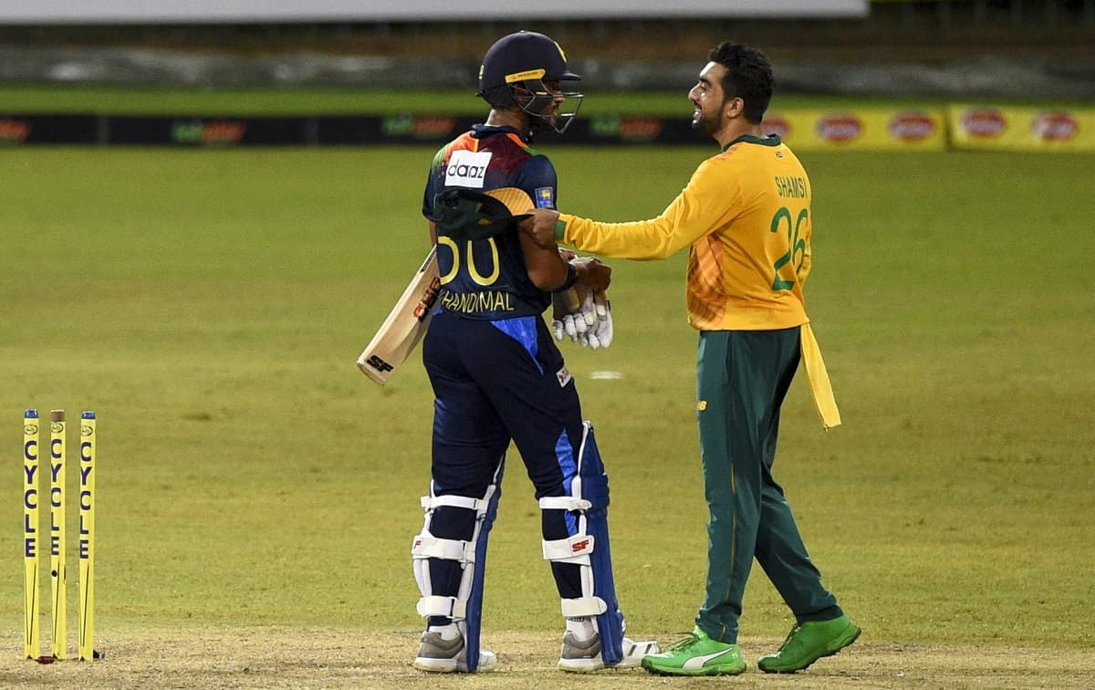 Sri Lanka opt to bat first against south africa in second t20i