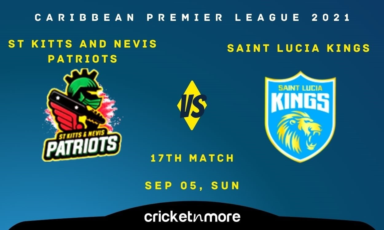 St Kitts & Nevis Patriots vs Saint Lucia Kings – Cricket Match Prediction, Fantasy XI Tips & Probabl