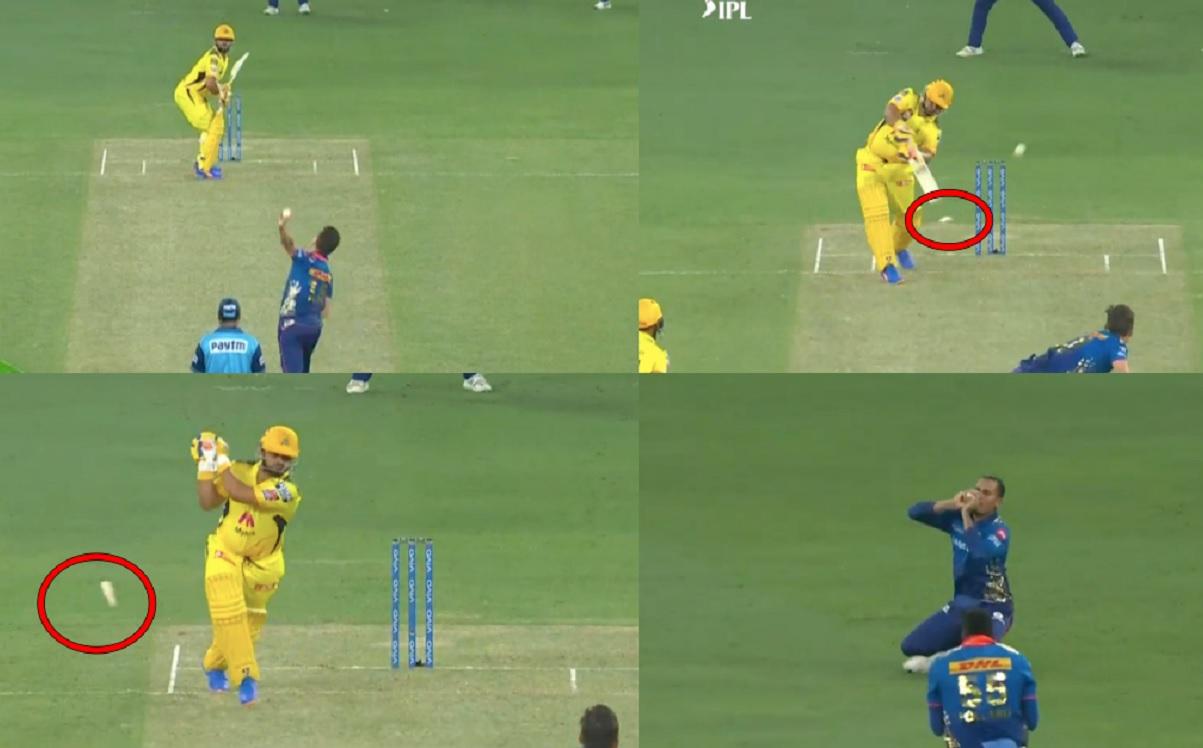 Suresh Raina Gets Out For 4 Runs, Breaks His Bat