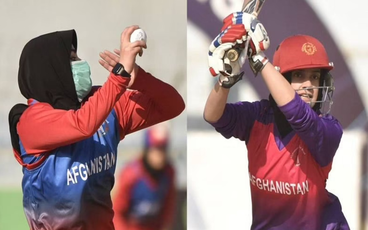 Cricket Image for Taliban Banned Afghan Women To Playing Sport