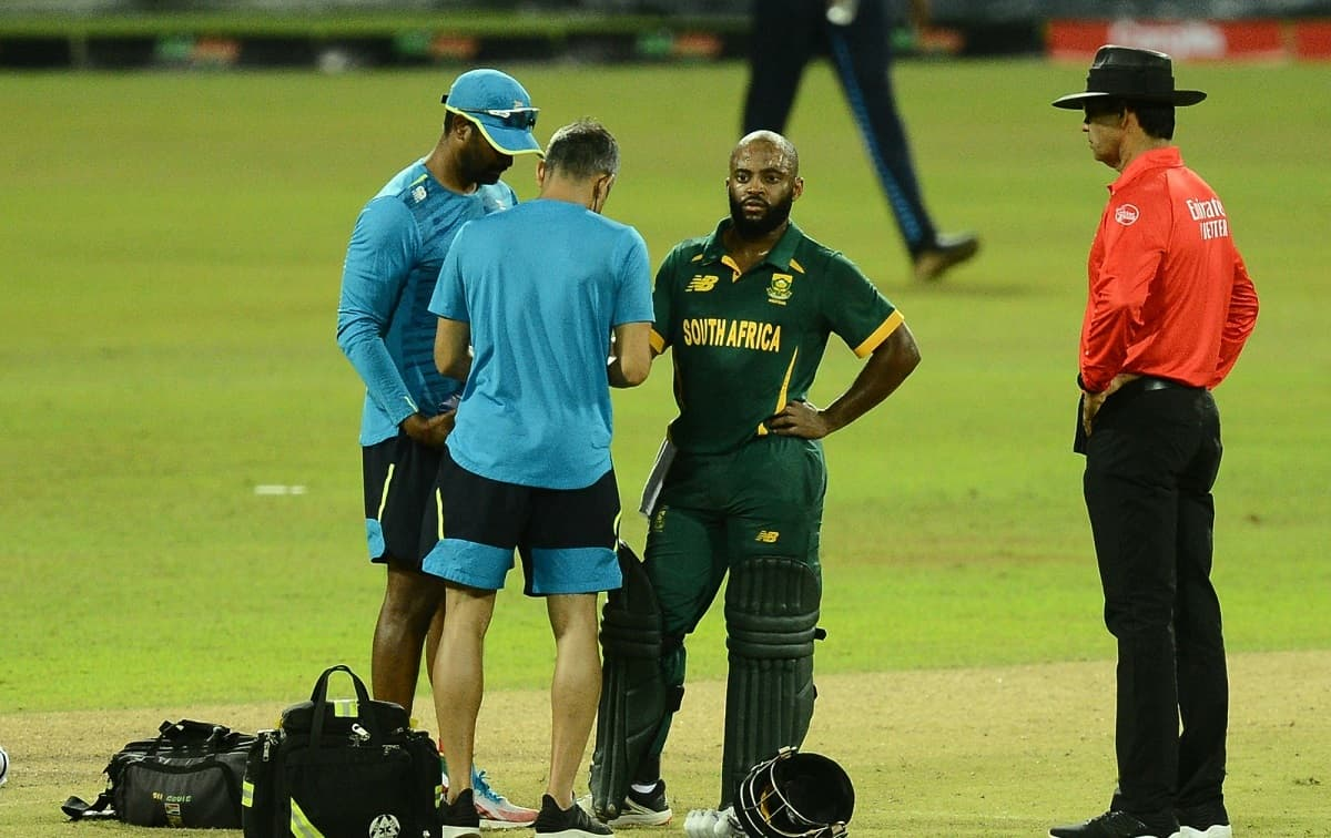 Cricket Image for South Africa Captain Temba Bavuma Out Of Sri Lanka Tour With Thumb Fracture