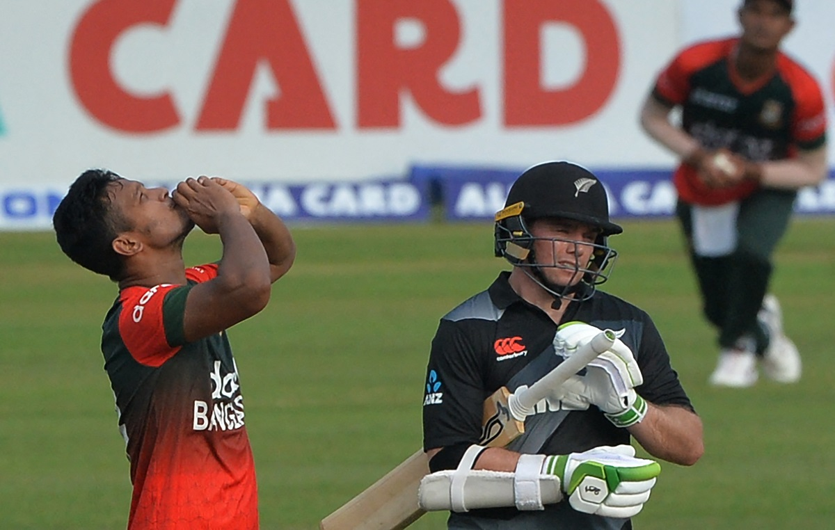 New Zealand all out for 60 runs in first t20i vs bangladesh