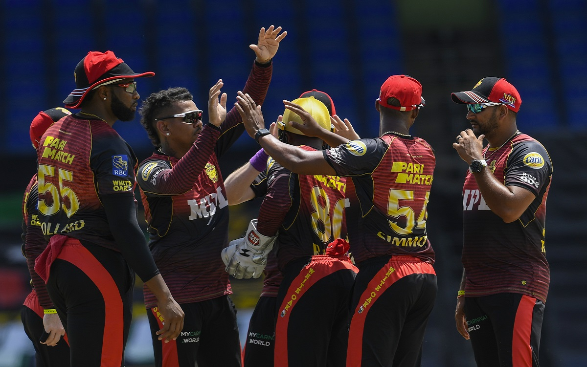 Trinbago Knight Riders In CPL Images