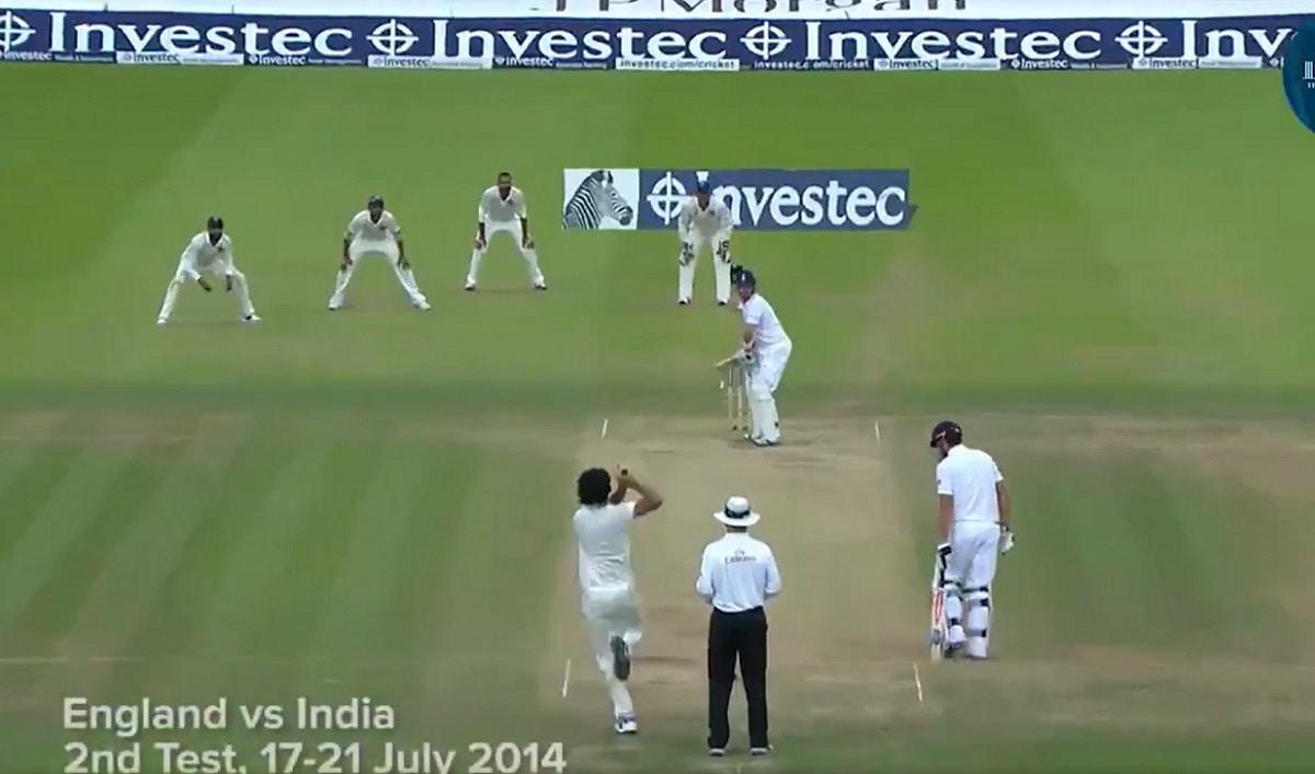 VIDEO: Ishant Sharma scintillating performance at lord's cricket ground