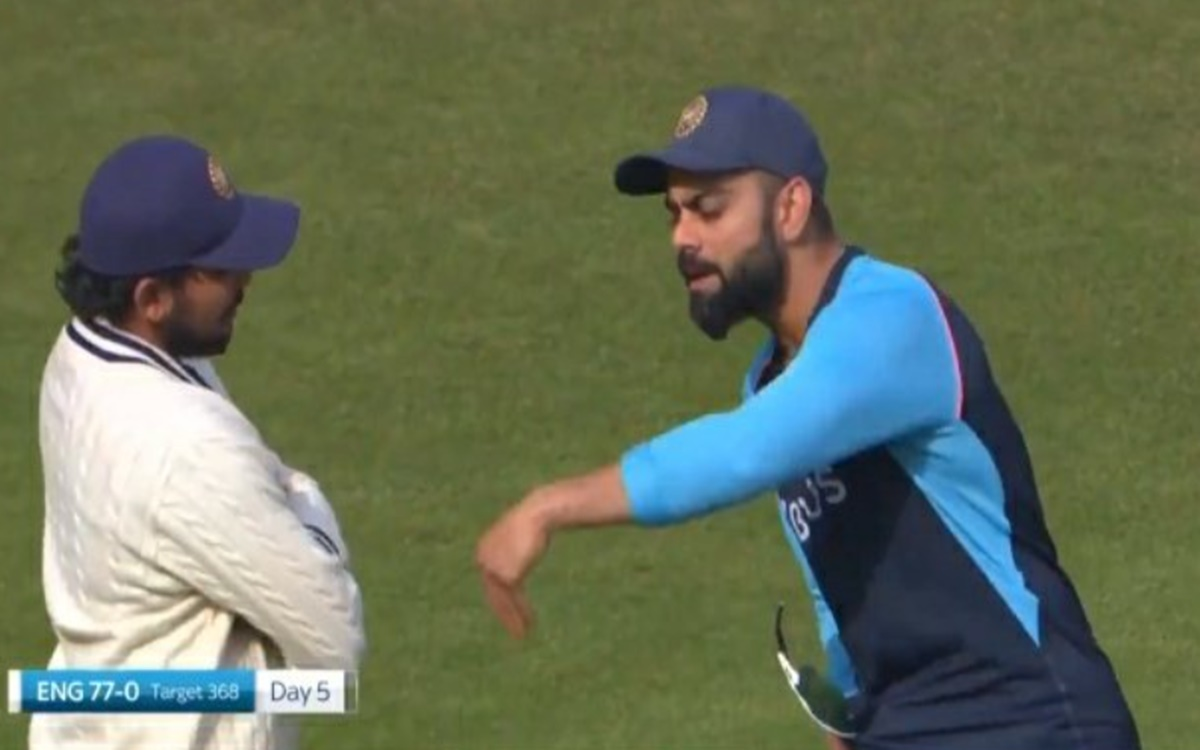 Cricket Image for Virat Kohli Having A Discussion About Batting With Prithvi Shaw